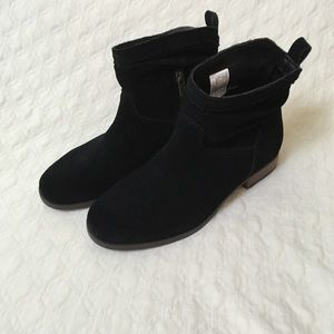 New Ugg Ankle Boot Slouchy Pull On Zip Bootie 6